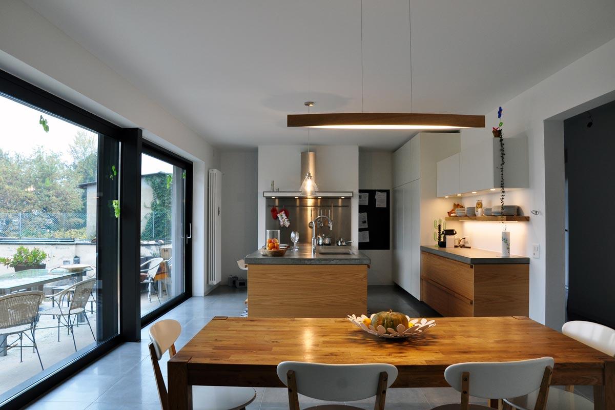 Casa privata lugano svizzera realizzazioni cucine for Casa arredo matelica